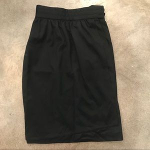 Vintage black Escada by SRB pencil skirt